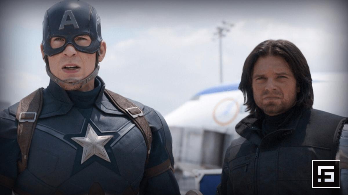 Bucky como parte del Team Cap en Captain America Civil War