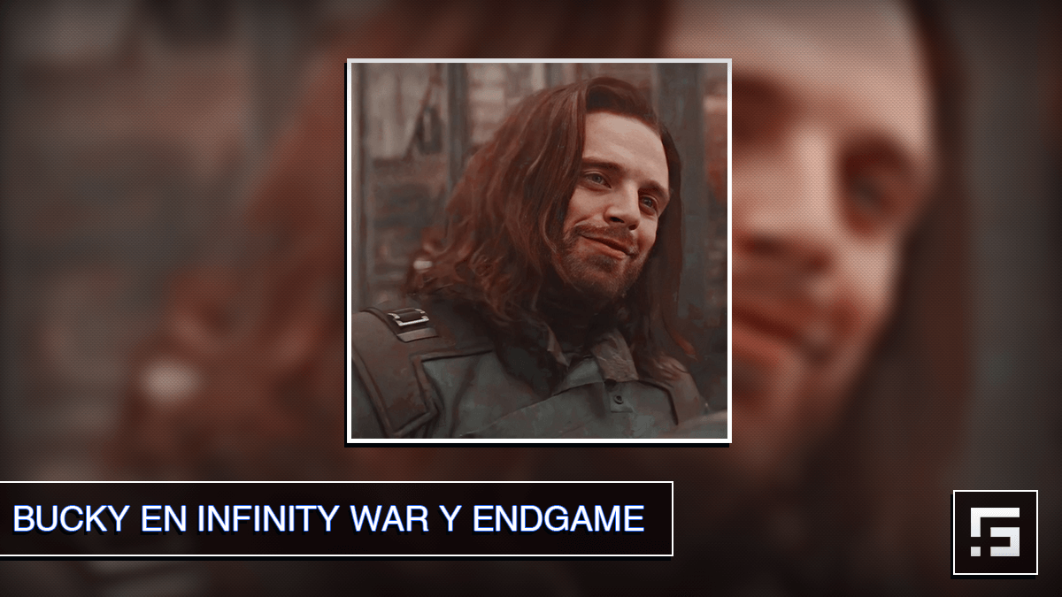 Bucky en Infinity War y EndGame