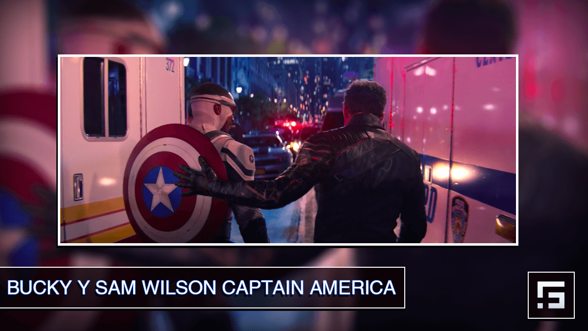 Sebastian Stan - Bucky y Sam Wilson Captain America Falcon and the Winter Soldier