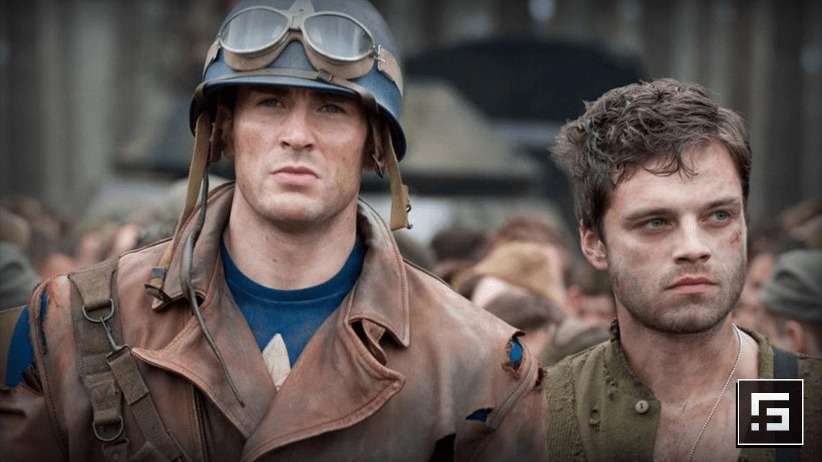 Capitán América y Bucky en Captain America The First Avenger