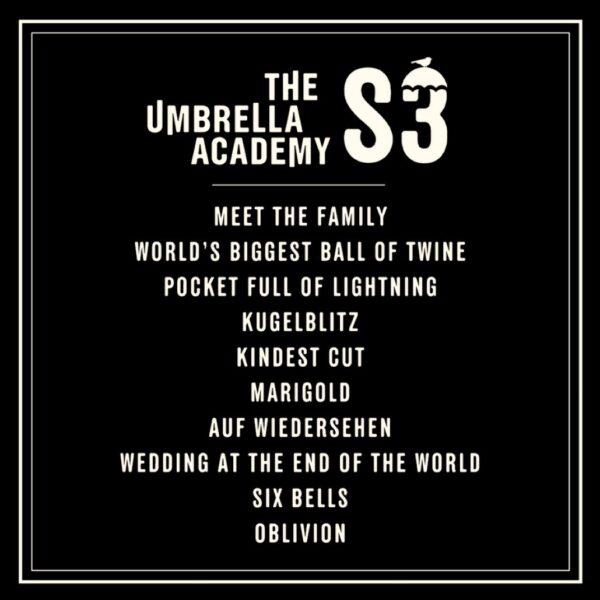 The Umbrella Academy: Revelados los títulos de los episodios de la tercera temporada