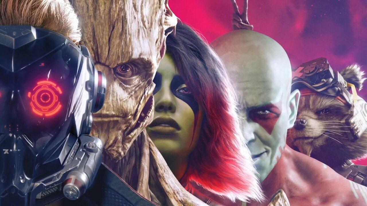 Guardianes de la Galaxia Square Enix