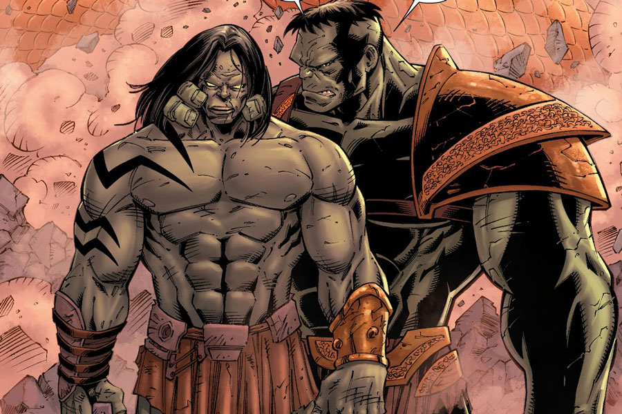 Skaar Hulk
