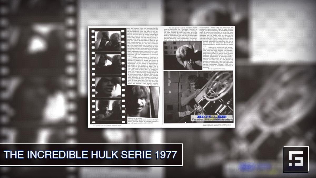 The Incredible Hulk serie 1977