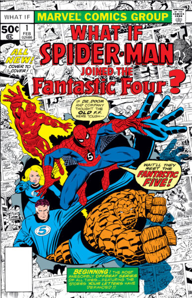 what if vol 1 numero 1 spiderman 4 fantasticos