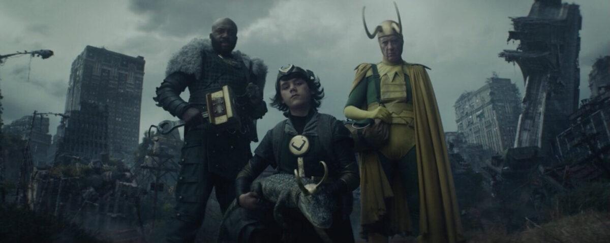 Las variantes de Loki que aparecieron en el episodio 1x04