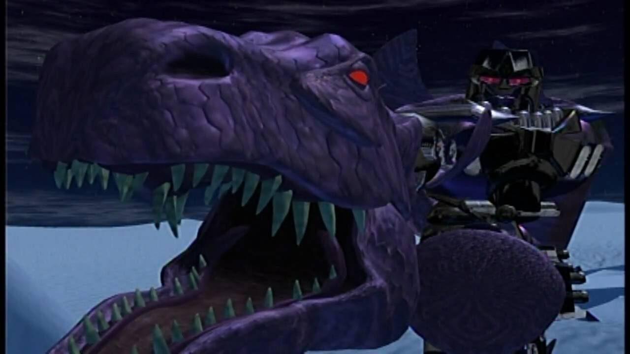 Megatron, el líder de los Predacons en las Beast Wars