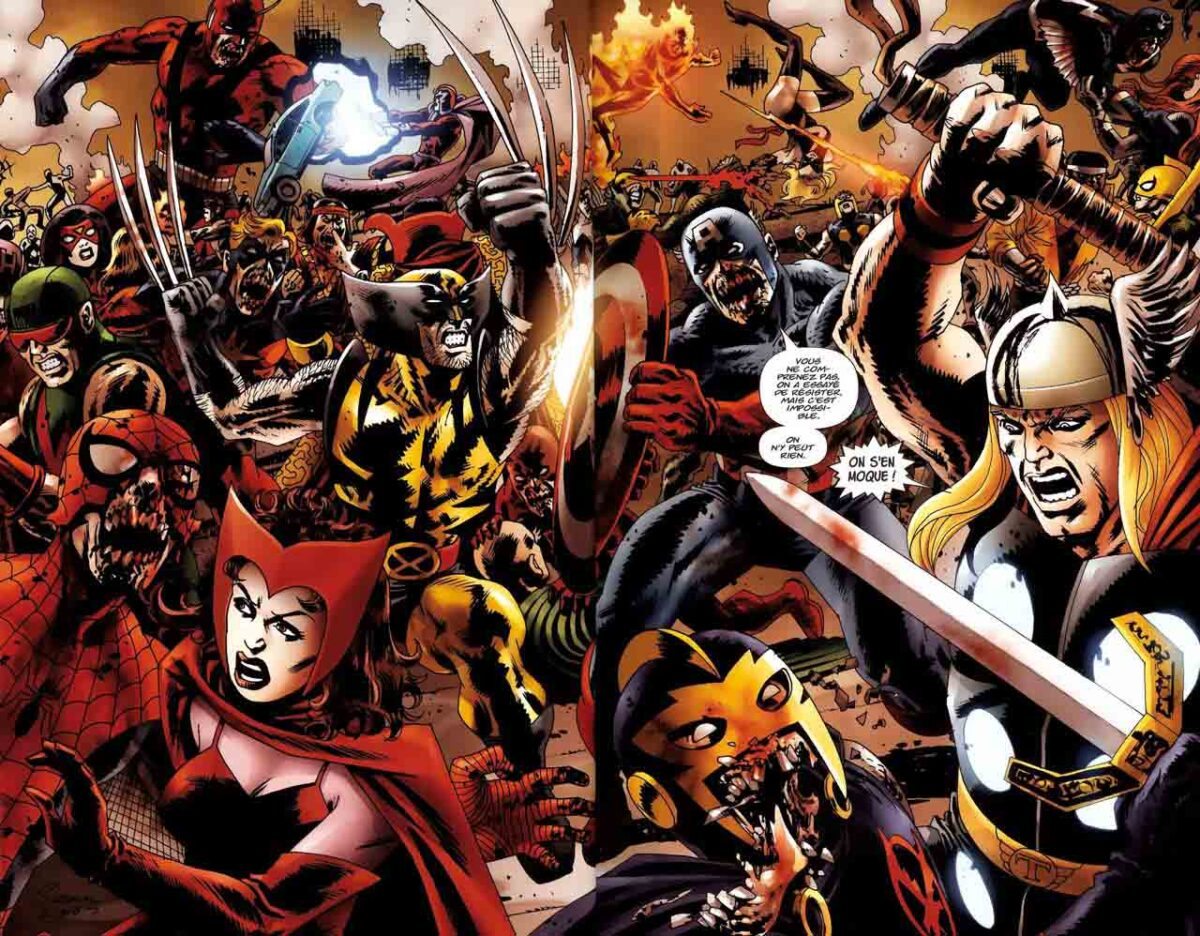 La historia detrás de Marvel Zombies