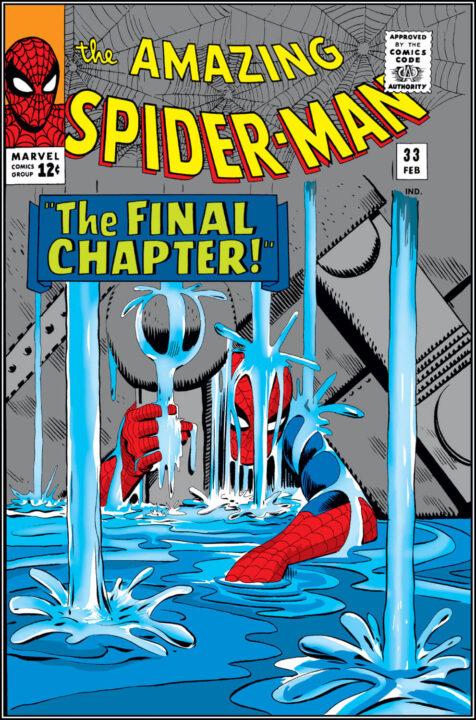 Portada Amazing Spider-Man 33