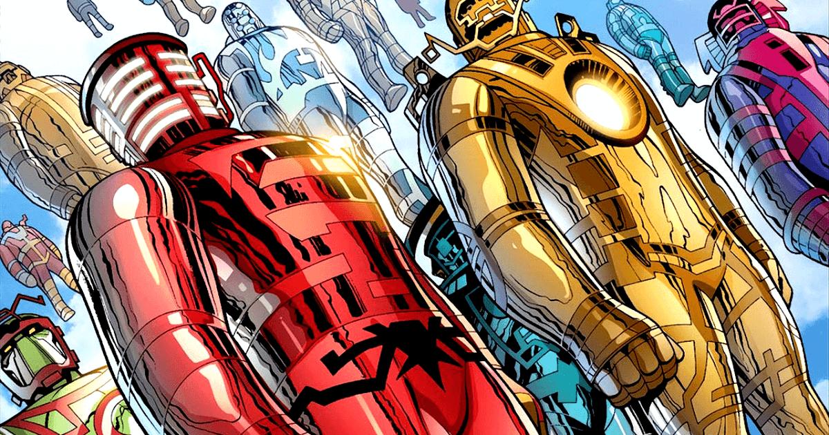 Marvel Celestiales Eternos Desviantes