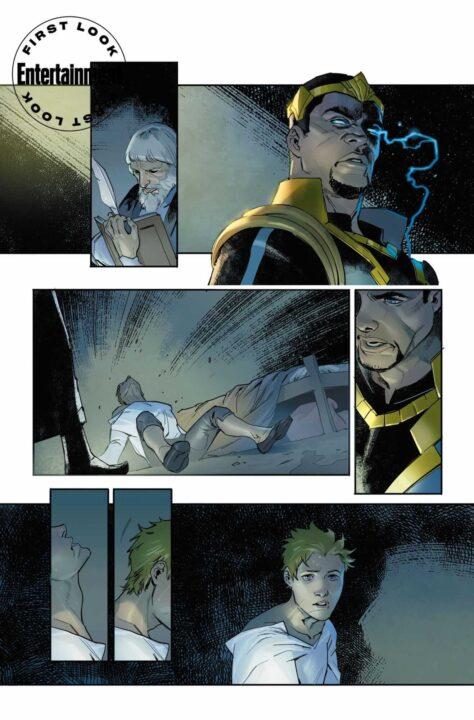 DC Cómics evento medieval