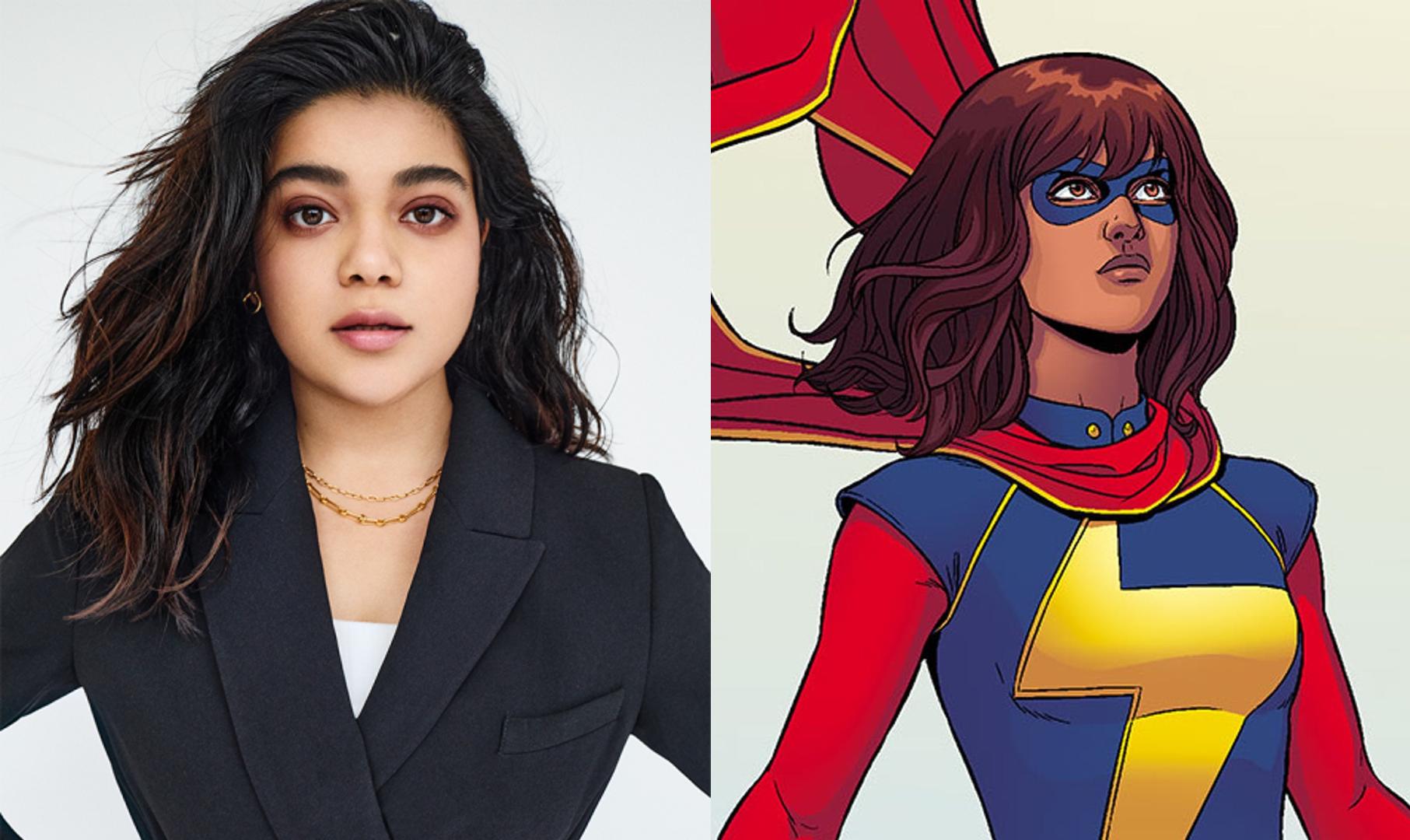 Iman Vellani cree que es inspirador verla como Ms. Marvel en el MCU