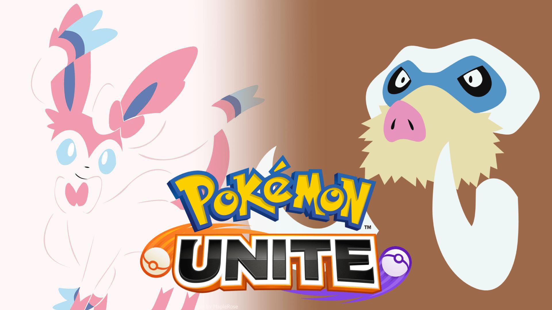 Sylveon Mamoswine Pokémon Unite