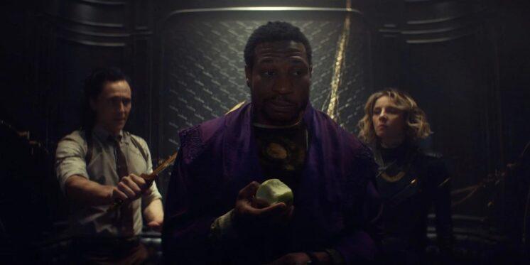 Jonathan Majors en el último episodio de 'Loki'