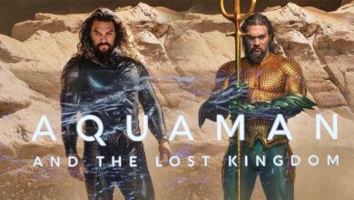 Aquaman The Lost Kingdom nuevos trajes