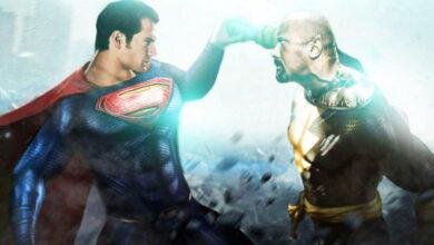 Black Adam vs Superman