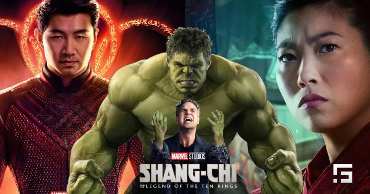 ¿Por qué Bruce Banner no está en su forma Hulk en el final de Shang-Chi?