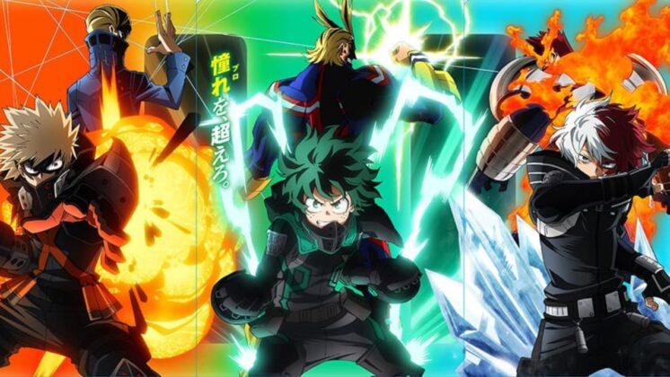My Hero Academia Misión Mundial de Héroes