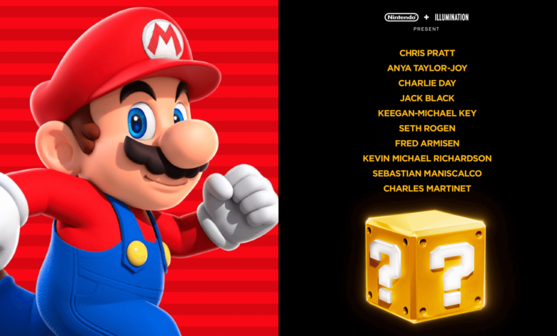 Revelado el reparto de 'Super Mario Bros', la nueva película animada del personaje