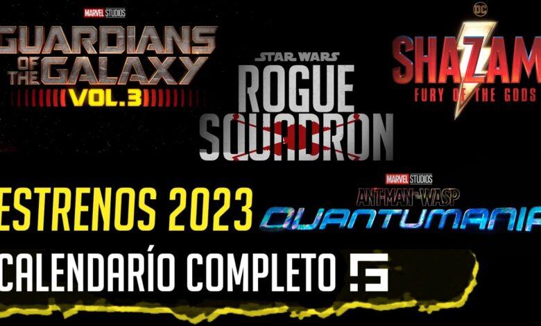 Todos los estrenos en 2023 de fantasía, superhéroes y ciencia ficción