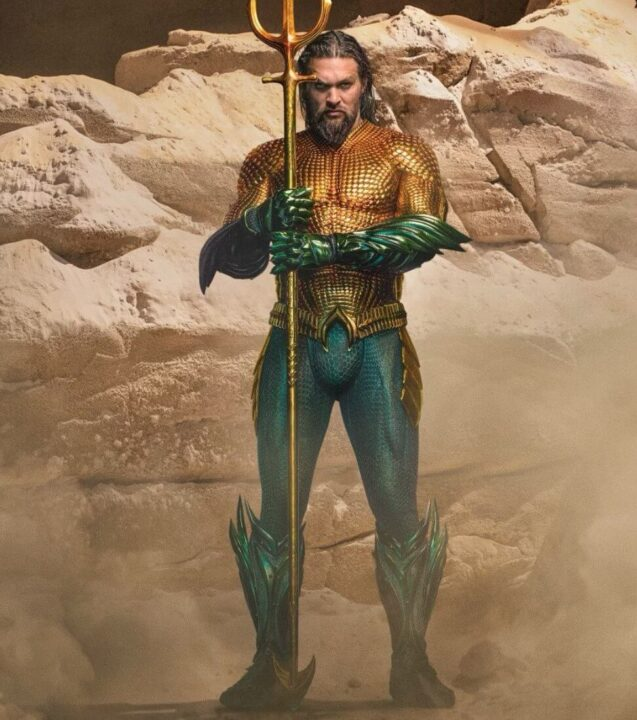Traje clasico Aquaman The Lost Kingdom