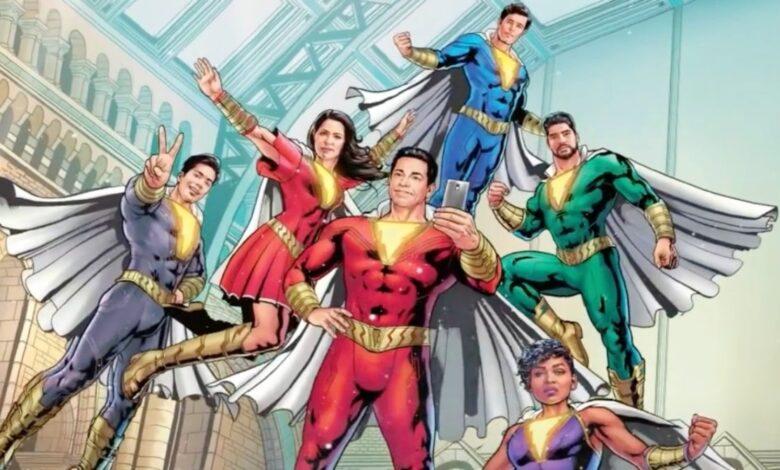Zachary Levi promete que la familia Shazam tendrá mucha más acción en 'Shazam! Fury of the Gods'