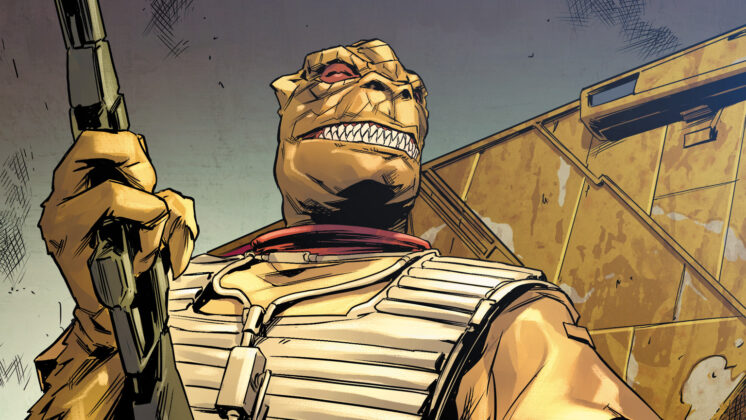 Bossk Star Wars Cazarrecompensas Comic