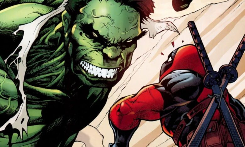 Deadpool y Hulk juntos