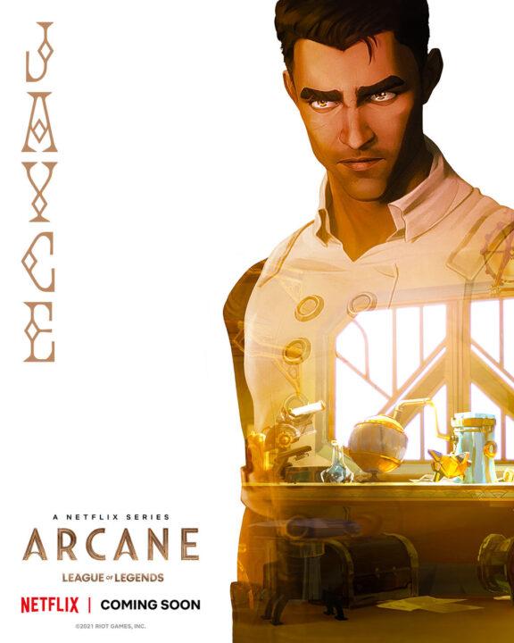 jayce en Arcane