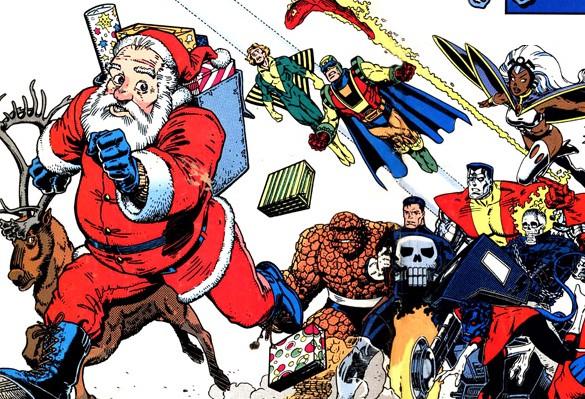 ¿Es Santa Claus el personaje que James Gunn anticipa que veremos en el especial de Navidad de los Guardianes de la Galaxia?