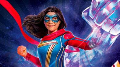 Ms Marvel poderes fan art